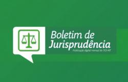 Boletim de Jurisprudência está disponível para consulta