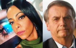 Samantha Schmütz diz que 'enterra' amigos que curtem rede social de Bolsonaro