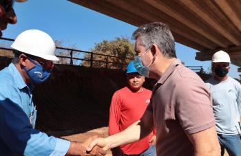 Governador visita 13 municípios do Araguaia para entregar, vistoriar e lançar obras