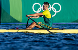 Tóquio 2020: brasileiro Lucas Verthein se classifica no remo