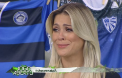 Renata Fan detona presidente após eliminação do Inter e promete 'sair de maca' no Jogo Aberto