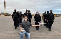 Policiais penais são treinados para manusear drones e evitar entrada de ilícitos nas penitenciárias