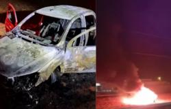 MS: Polícia descobre vítima de sequestro em porta-malas de carro em chamas