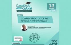 Live Consciência Cidadã nas Universidades será realizada nesta quinta-feira (12)
