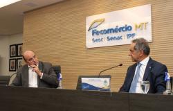 Embaixador da Argentina no Brasil visita Fecomércio-MT e conhece o potencial do setor no estado