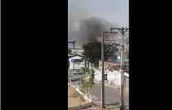 Fogo em área urbana de Cuiabá deixa mais de 5 mil imóveis sem energia