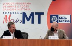 Governador Mauro Mendes e secretário Alberto Machado entregam premiação para atletas de MT que participaram das Olímpiadas de Tóquio