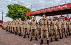 Corpo de Bombeiros Militar de Mato Grosso celebra 57 anos de criação