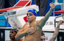 Gabriel Bandeira, da natação, conquista o primeiro ouro do Brasil nos Jogos Paralímpicos de Tóquio