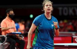 Paralímpiadas: Dani Rauen se recupera, e Stroh vence japonês na segunda sessão do tênis de mesa