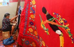 Virginia Mendes e Kika Dorilêo apresenta produção artística das redeiras de Limpo Grande