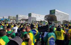 Acompanhe em tempo real as manifestações em Brasília