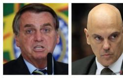 'Eu sou palmeirense e você é são-paulino', disse Bolsonaro a Alexandre de Moraes