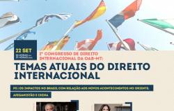 Temer e convidados de renome participam de Congresso de Direito Internacional realizado pela OAB-MT