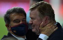 Presidente do Barcelona banca permanência de Ronald Koeman: 'Seu futuro não depende deste jogo'