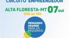 Inscrições para Circuito Empreendedor de Alta Floresta estão abertas