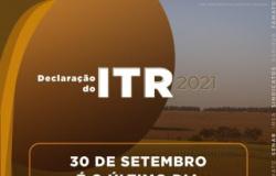 Prazo para entrega da declaração do ITR 2021 termina quinta-feira
