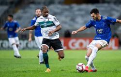 Coritiba x Cruzeiro. Onde assistir, prováveis times e desfalques