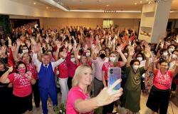 Movimento de renovação da OAB/MT reúne cerca de 300 advogadas em Várzea Grande