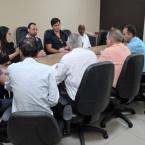 Reunião na Vice-governadoria e comitiva de vereadores de Juara   28.03.2019