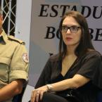 Única deputada na ALMT, Janaina fala sobre empoderamento em Encontro Estadual de Bombeiras Militares