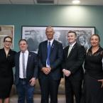 RELAÇÕES INTERNACIONAIS Embaixador de Israel visita ALMT