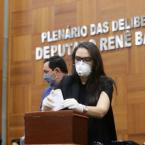 Deputada Janaina Riva é reeleita vice-presidente da ALMT e faz história no parlamento mato-grossense