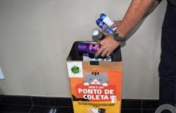 Doação de frascos de desodorantes ajuda animais em MT