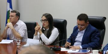 Reunião com Secretario de saúde do estado Gilberto Figueiredo discutindo o combate do Coronavírus | 17.03.2020