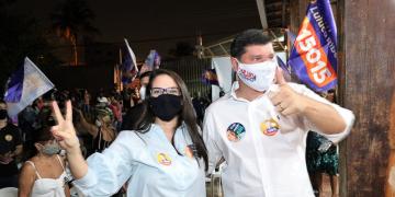 Reunião política em prol da candidatura do candidato a vereador Luluca Ribeiro 15015 | 12.10.2020