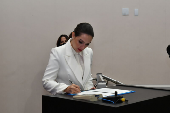 Com promessa de representatividade, Janaina Riva é reconduzida à vice-presidência da ALMT