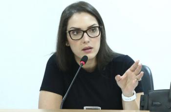 deputada Janaina Riva pediu o afastamento do presidente do Indea acusado de assédio sexual- Foto Assessoria/ALMT