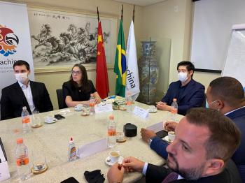 Deputada Janaína Riva participa de missão junto à Ibrachina – SP