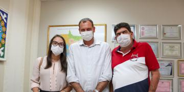 Deputado Dr. João e Pref. Cezinha de Nova Bandeirantes | 08.07.2021
