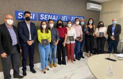 Deputada e vereadores vão ao Senai pleitear cursos profissionalizantes para Juara