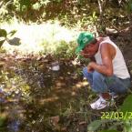 Colaboradores da Fazenda Ecológica