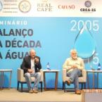 Seminário A Década da Água - Rede Gazeta - Vitória ES 15-12-2015.