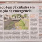 A seca e a falta de água atingiu no Espírito Santo níveis ALARMANTES.