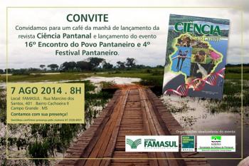 """Revista """"Ciência Pantanal"""" lança campanha de financiamento coletivo - COLABORE VOCÊ TAMBÉM!!"""
