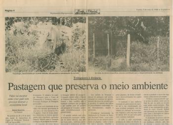 Reportagem A Gazeta sobre as Filmagens para o Videocurso