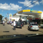 Postos de Combustíveis de Rondônia já são afetados com o protesto dos Caminhoneiros no País, confira fotos e vídeo.