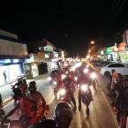 Numero de participantes aumentam no movimento vem pra rua, confira.