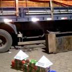 hauahuahauhauhauahhauhauahuahuahauhuPASTA BASE: Caminhão de Rondônia é apreendido com quase 3 milhões em cocaína em Minas Gerais