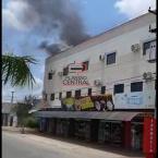 Incêndio em prédio de apartamentos é registrado em Ji-Paraná.