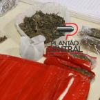 Guarnição de Rádio Patrulha apreende Pistola e três pessoas com droga em Ji-Paraná