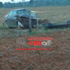 hauahuahauhauhauahhauhauahuahuahauhuHomem morre após  capotar Corolla  a RO 459