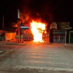 Loja de celulares é incendiada criminosamente em Ji-Paraná