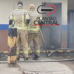 Corpo de bombeiros age rápido e evita que incêndio  comprometesse estrutura de Supermercado em Ji-Paraná