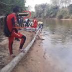 Veja videos! Confira tudo sobre o Jovem que foi resgatado afogado no Rio Urupá