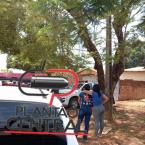 Queimado vivo! Polícia localiza corpo carbonizado em meio a madeiras e pneus